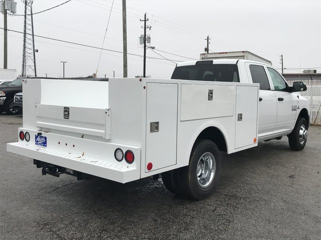 2018 Ram 3500 Crew Cab DRW 4x4, Warner Service Body #JG114342 - photo 2