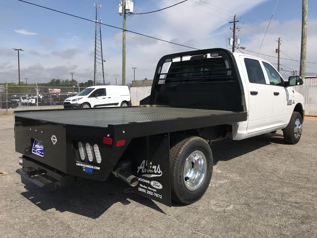 2018 Ram 3500 Crew Cab DRW 4x4, CM Truck Beds Platform Body #JG134386 - photo 2