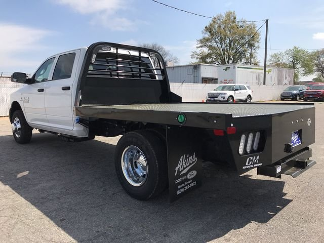 2018 Ram 3500 Crew Cab DRW 4x4, CM Truck Beds Platform Body #JG134386 - photo 4