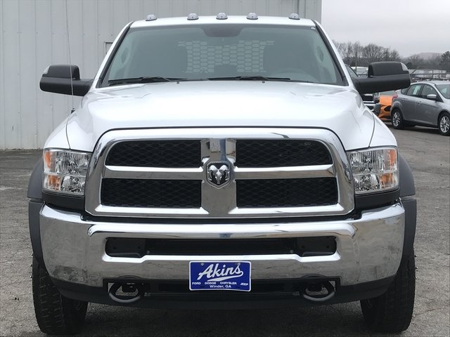 2018 Ram 5500 Crew Cab DRW 4x4, Knapheide Platform Body #JG141419 - photo 7