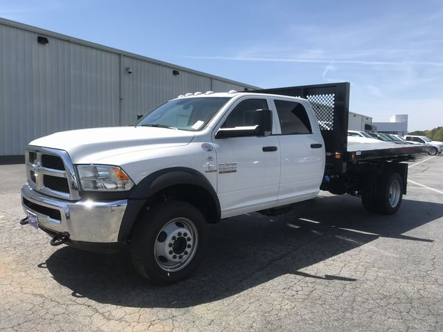 2018 Ram 5500 Crew Cab DRW 4x4, Knapheide Platform Body #JG145720 - photo 5