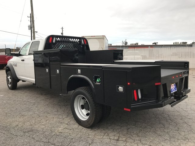 2018 Ram 5500 Crew Cab DRW 4x4, Knapheide Platform Body #JG145723 - photo 4