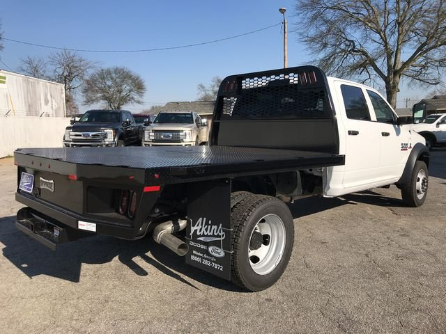 2018 Ram 4500 Crew Cab DRW 4x4, Knapheide Platform Body #JG151451 - photo 2