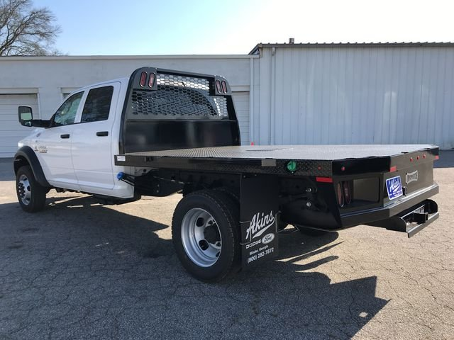 2018 Ram 4500 Crew Cab DRW 4x4, Knapheide Platform Body #JG151451 - photo 4