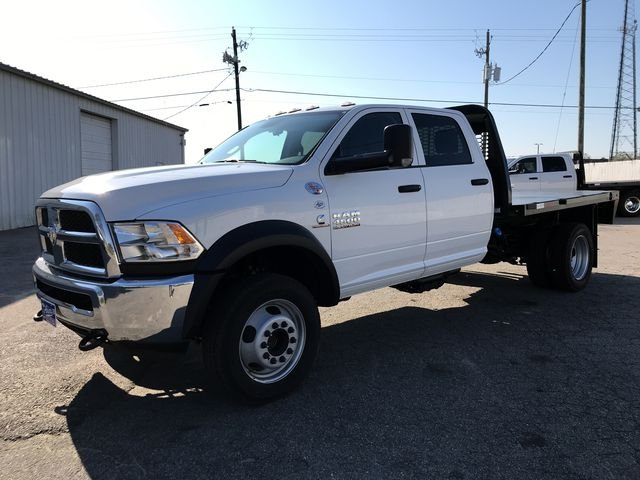 2018 Ram 4500 Crew Cab DRW 4x4, Knapheide Platform Body #JG151451 - photo 3