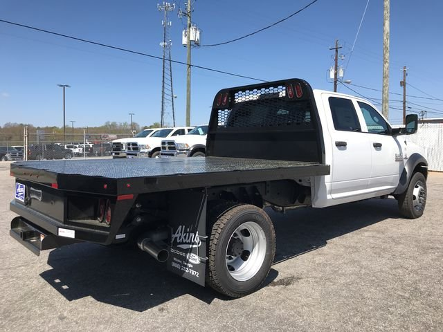 2018 Ram 4500 Crew Cab DRW 4x4, Knapheide Platform Body #JG173324 - photo 2
