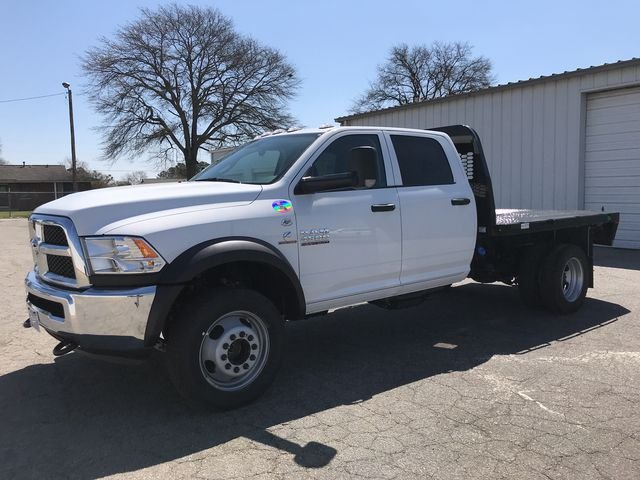 2018 Ram 4500 Crew Cab DRW 4x4, Knapheide Platform Body #JG173324 - photo 5