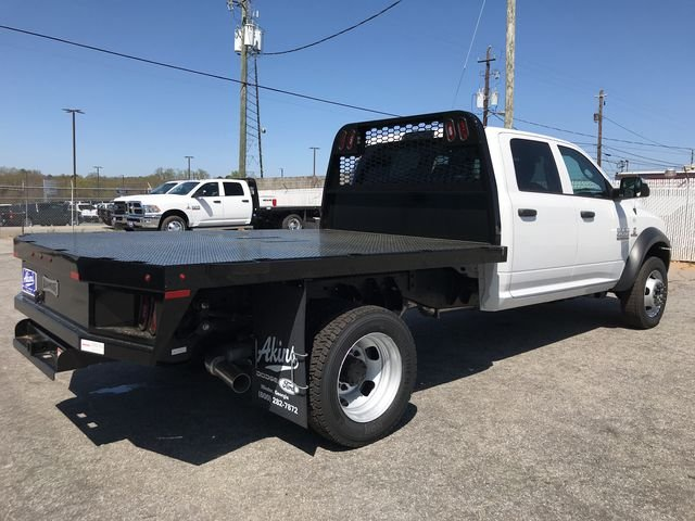 2018 Ram 4500 Crew Cab DRW 4x4, Knapheide Platform Body #JG177919 - photo 2