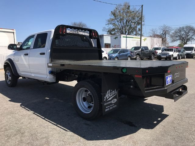 2018 Ram 4500 Crew Cab DRW 4x4, Knapheide Platform Body #JG177919 - photo 4