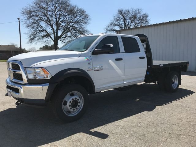 2018 Ram 4500 Crew Cab DRW 4x4, Knapheide Platform Body #JG177919 - photo 5