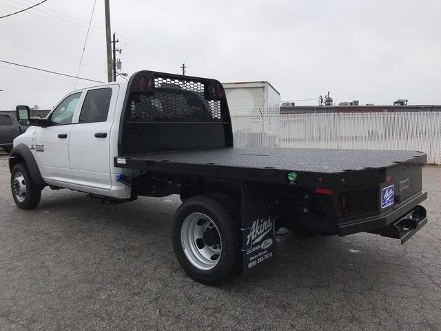 2018 Ram 4500 Crew Cab DRW 4x2,  Knapheide Platform Body #JG185745 - photo 5