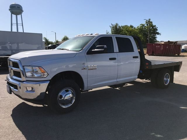 2018 Ram 3500 Crew Cab DRW 4x4,  CM Truck Beds Platform Body #JG208811 - photo 5