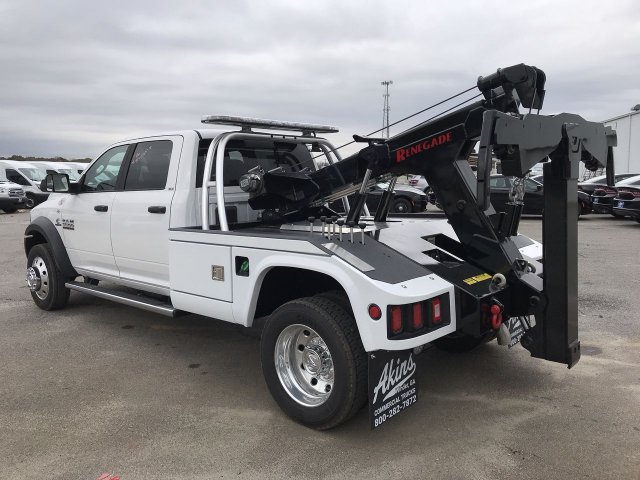 2018 Ram 5500 Crew Cab DRW 4x2,  Chevron Wrecker Body #JG291432 - photo 4