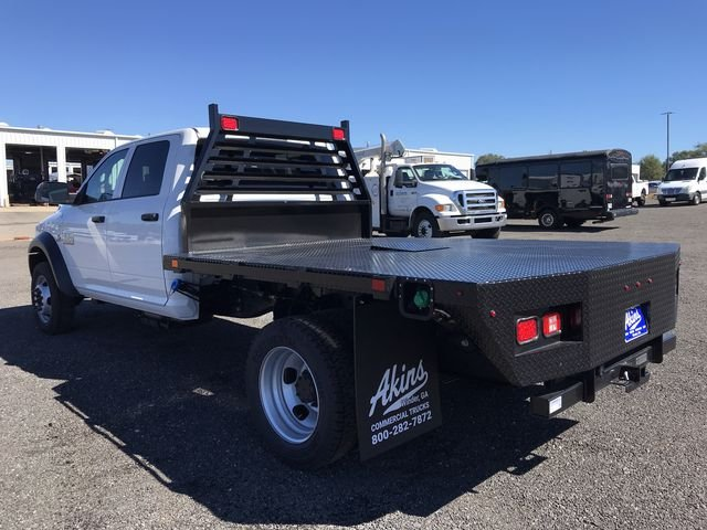 2018 Ram 4500 Crew Cab DRW 4x4,  Commercial Truck & Van Equipment Gooseneck Platform Body #JG304571 - photo 4