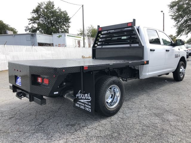 2018 Ram 3500 Crew Cab DRW 4x4,  Commercial Truck & Van Equipment Platform Body #JG312571 - photo 2
