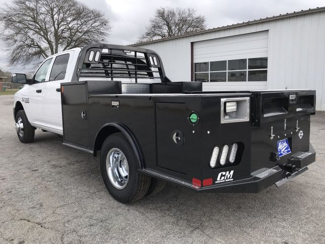 2018 Ram 3500 Crew Cab DRW 4x4,  CM Truck Beds Hauler Body #JG362610 - photo 4