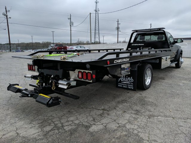 2019 Ram 5500 Regular Cab DRW 4x2, Miller Industries Rollback Body #KG606128 - photo 1