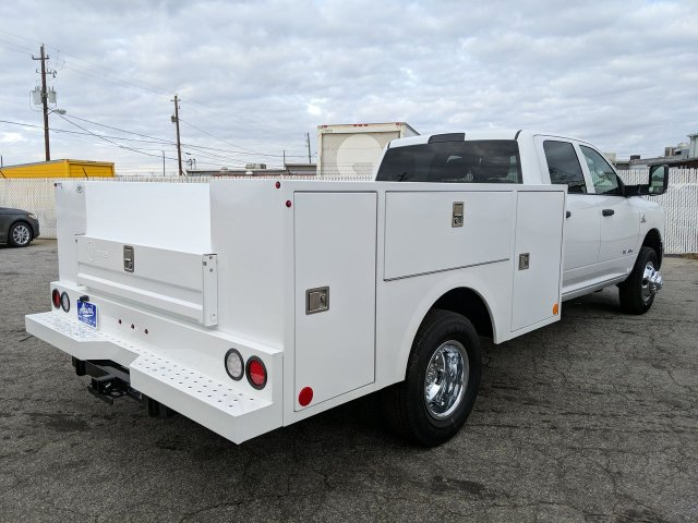 2019 Ram 3500 Crew Cab DRW 4x4, Warner Service Body #KG688770 - photo 1