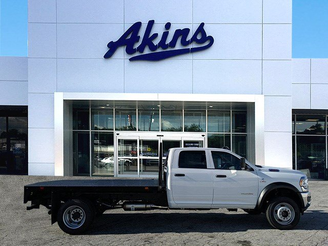 2019 Ram 5500 Crew Cab DRW 4x4, Commercial Truck & Van Equipment Platform Body #KG710589 - photo 1