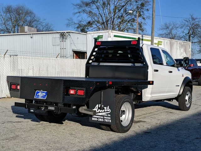 2019 Ram 4500 Crew Cab DRW 4x4, Commercial Truck & Van Equipment Platform Body #KG722390 - photo 1