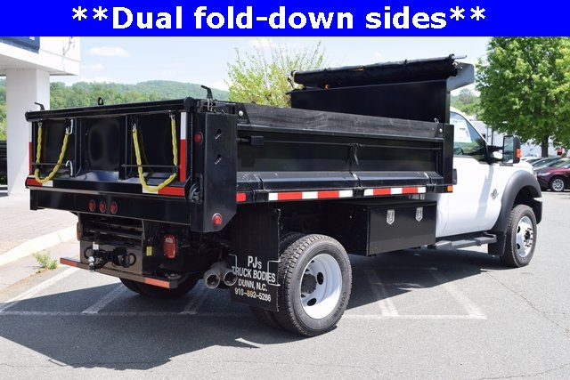2016 F-550 Regular Cab DRW, Godwin Manufacturing Co. Dump Body #F160233 - photo 2