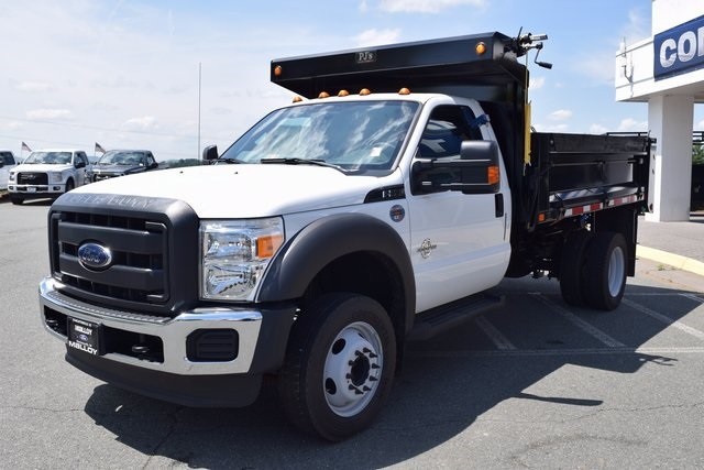 2016 F-550 Regular Cab DRW, Godwin Manufacturing Co. Dump Body #F160233 - photo 4