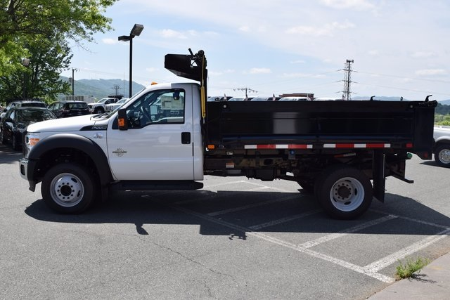 2016 F-550 Regular Cab DRW, Godwin Manufacturing Co. Dump Body #F160233 - photo 5
