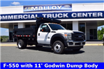 2016 F-550 Regular Cab DRW, Godwin Manufacturing Co. Dump Body #F160233 - photo 1