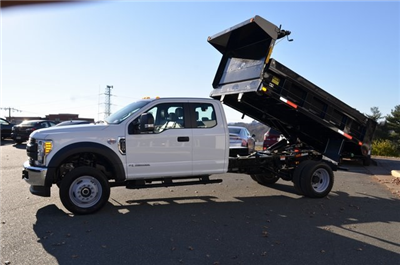2017 F-450 Super Cab DRW 4x4 Dump Body #F170048 - photo 17