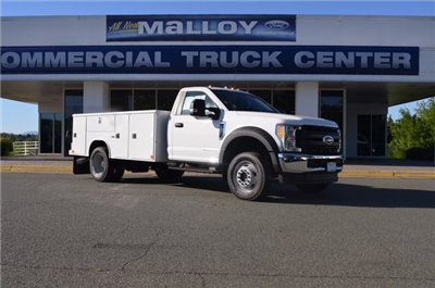 2017 F-550 Regular Cab DRW 4x4, Reading Classic II Steel Service Body #F17622 - photo 1