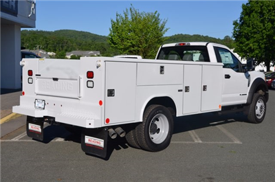2017 F-550 Regular Cab DRW 4x4, Reading Classic II Steel Service Body #F17622 - photo 2