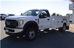 2017 F-550 Regular Cab DRW 4x4, Reading Classic II Steel Service Body #F17622 - photo 4