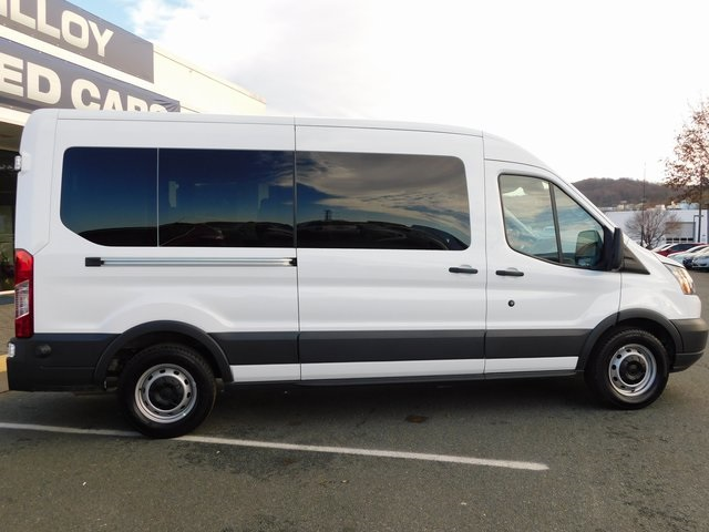 2018 Transit 350 Med Roof 4x2,  Passenger Wagon #F180035 - photo 8