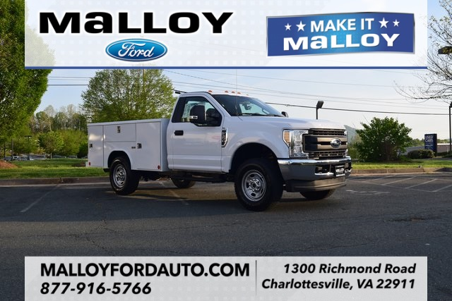 2018 F-350 Regular Cab 4x4, Reading Classic II Steel Service Body #F18496 - photo 1