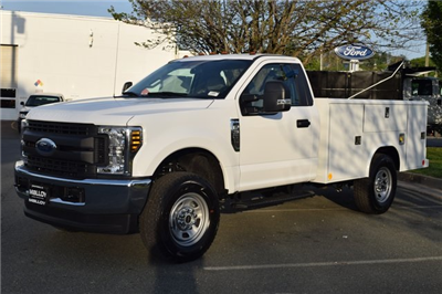2018 F-350 Regular Cab 4x4, Reading Classic II Steel Service Body #F18496 - photo 4