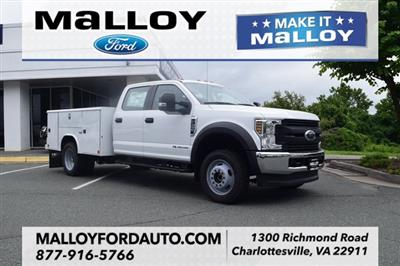 2018 F-450 Crew Cab DRW 4x4,  Reading Classic II Steel Service Body #F18668 - photo 1