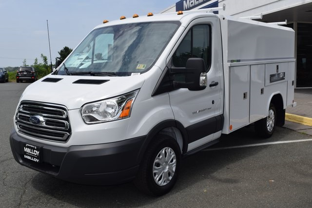 2018 Transit 350 4x2,  Reading Service Utility Van #F18793 - photo 4