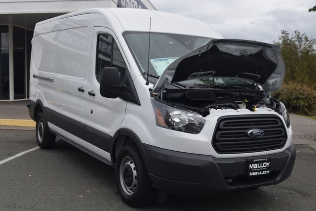 2018 Transit 250 Med Roof 4x2,  Empty Cargo Van #F18867 - photo 11