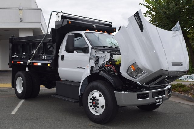 2019 F-750 Regular Cab DRW 4x2,  PJ's Truck Bodies & Equipment Dump Body #F19018 - photo 13