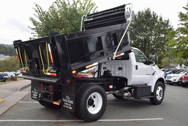 2019 F-750 Regular Cab DRW 4x2,  PJ's Truck Bodies & Equipment Dump Body #F19018 - photo 18