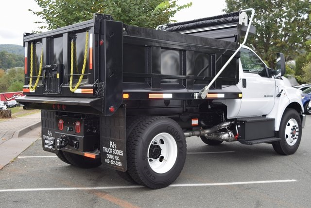 2019 F-750 Regular Cab DRW 4x2,  PJ's Truck Bodies & Equipment Dump Body #F19018 - photo 2