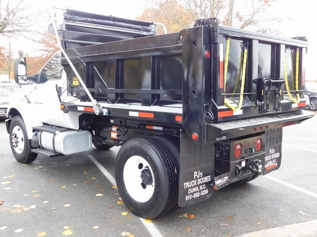 2019 F-750 Regular Cab DRW 4x2,  PJ's Truck Bodies & Equipment Dump Body #F19041 - photo 6