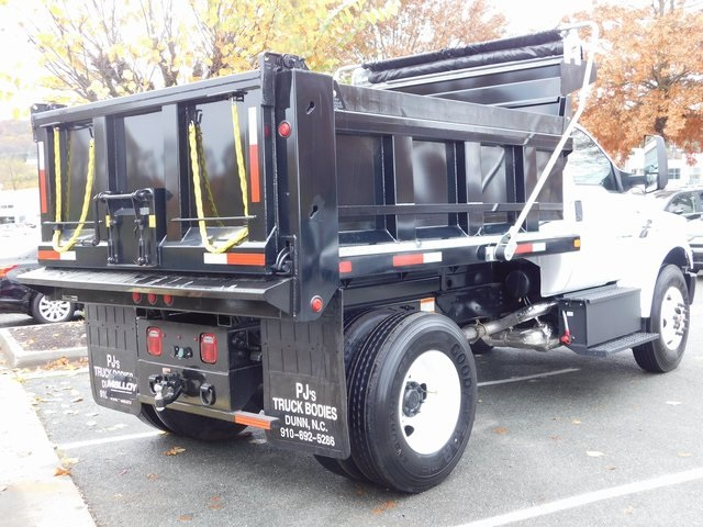 2019 F-750 Regular Cab DRW 4x2,  PJ's Truck Bodies & Equipment Dump Body #F19041 - photo 2
