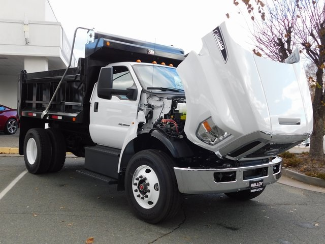 2019 F-650 Regular Cab DRW 4x2,  PJ's Truck Bodies & Equipment Dump Body #F19047 - photo 13