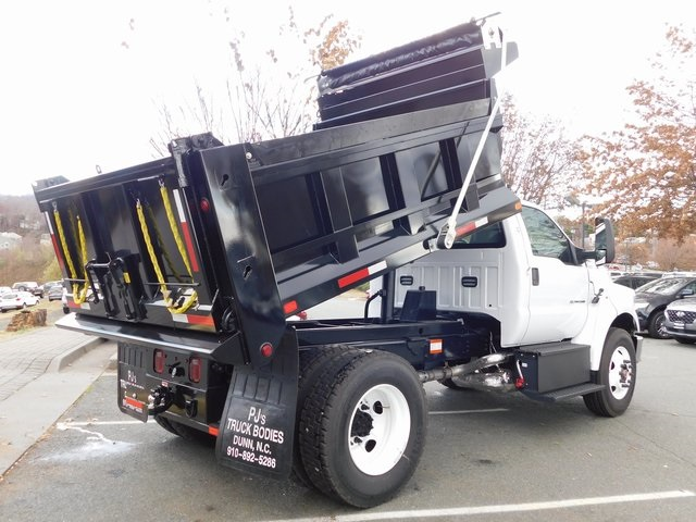 2019 F-650 Regular Cab DRW 4x2,  PJ's Truck Bodies & Equipment Dump Body #F19047 - photo 18