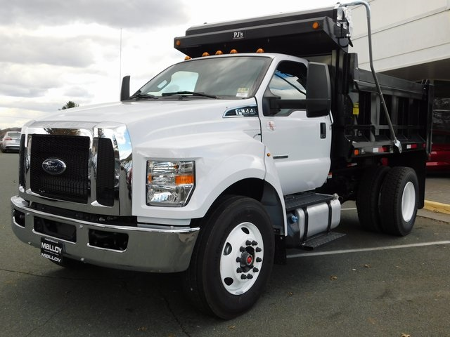 2019 F-650 Regular Cab DRW 4x2,  PJ's Truck Bodies & Equipment Dump Body #F19047 - photo 4