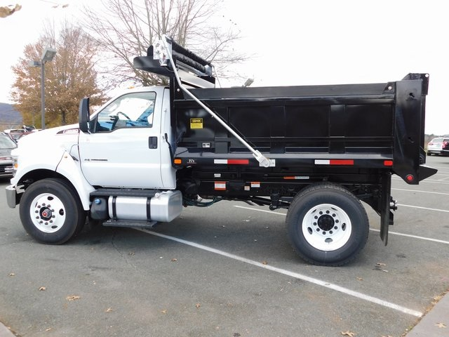 2019 F-650 Regular Cab DRW 4x2,  PJ's Truck Bodies & Equipment Dump Body #F19047 - photo 5