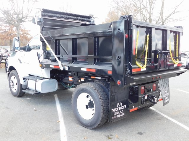 2019 F-650 Regular Cab DRW 4x2,  PJ's Truck Bodies & Equipment Dump Body #F19047 - photo 6