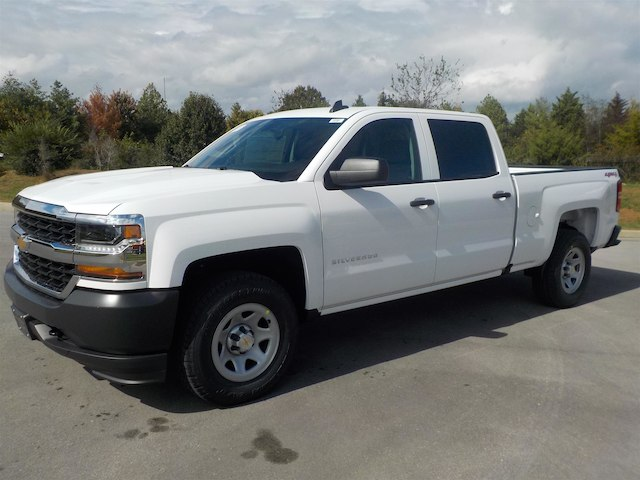 2018 Silverado 1500 Crew Cab 4x4, Pickup #18T096 - photo 4