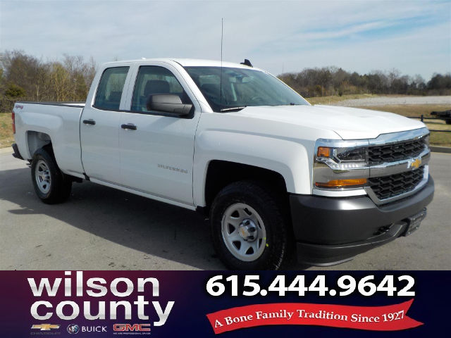 2018 Silverado 1500 Double Cab 4x4, Pickup #18T256 - photo 1